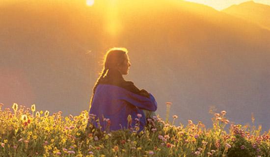 thinking and meditating
