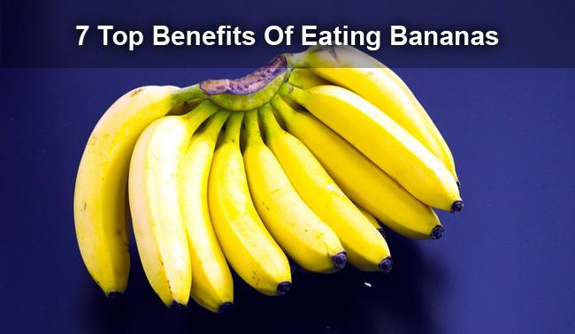 healthy benefits of eating bananas