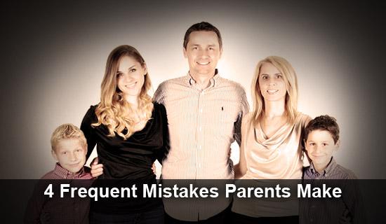 parent mistakes